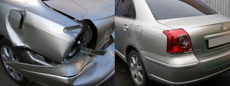 Фото пример ремонта Toyota
