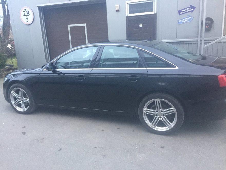 Фото результата восстановления Audi