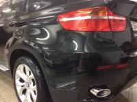 Фото повреждения бампера BMW