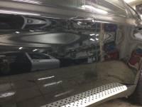 Фото дверей BMW после удаления дефектов