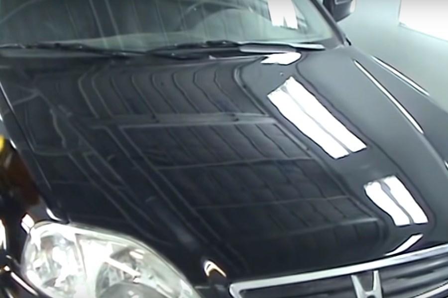 Фото капота авто после полировка