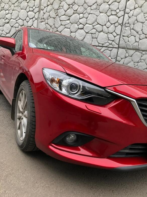 Mazda фото после кузовного ремонта
