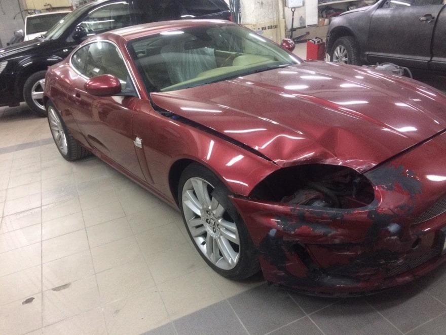 Фото до ремонта Jaguar АвтосервисПрофи