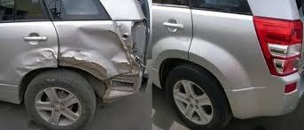 Фото примера рихтовки авто