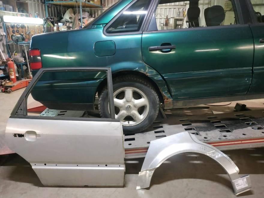 Фото Volkswagen Passat перед заменой деталей