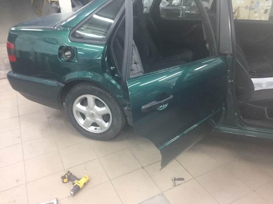 Фото результата работы по восстановлению кузова volkswagen в «АвтосервисПрофи»